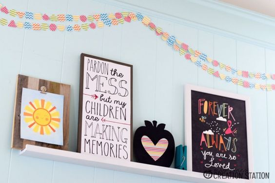 Classroom Banner Ideas : Homeschool classroom decorations diy banner