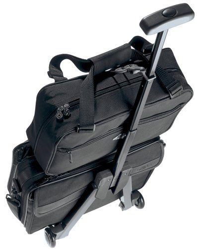 replica handbags celine - Amazon.com: Samsonite Micro Mover Fold Away Luggage Cart, Charcoal ...