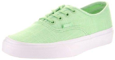 vans shoes man green