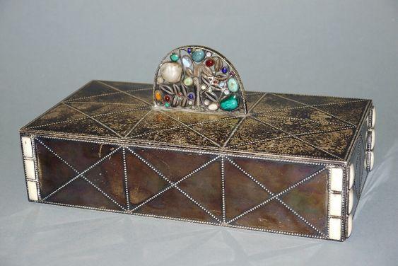 Wimmer-Wisgrill, jewelry box for Wiener Werkstätte around 1910/15 Eduard Josef Wimmer-Wisgrill, 1882
