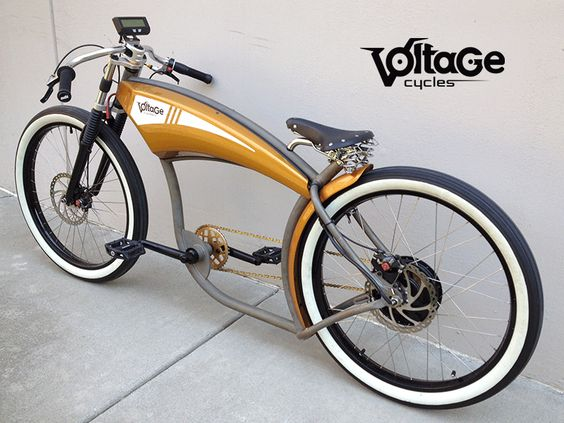 (VIDEO) Voltage Cycles, custom electric Chopper bikes ...