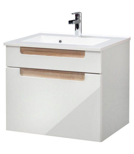 Waschtisch Siena Breite 60 Cm 2 Tlg Held Mobel