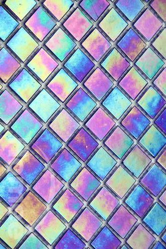 iridescent | mother-of-pearl | gleaming | shimmering | metallic rainbow | shine |: