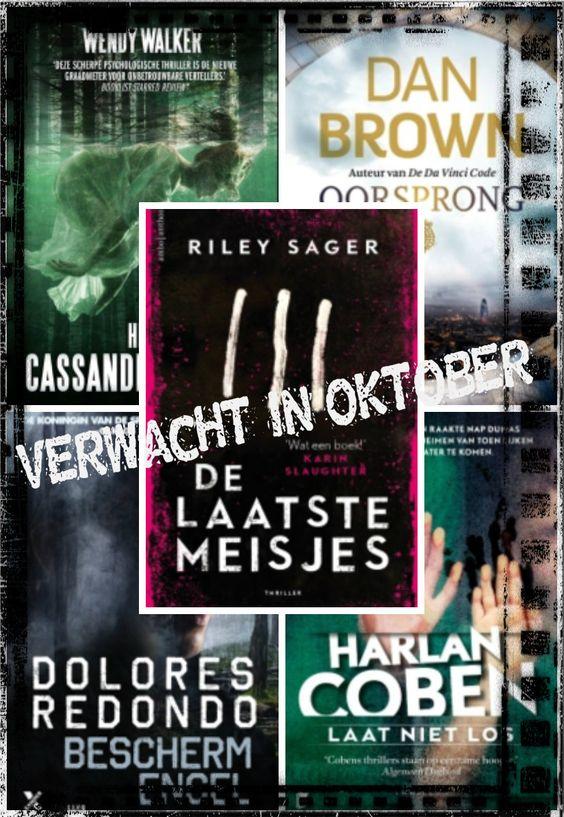 Wendy Walker, Riley Sager, Dolores Redondo, Harlan Coben, Dan Brown, LS, Ambo|Anthos, Xander, Boekerij, HarperCollinsHolland