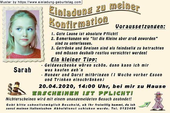 Dein Eigenes Foto Auf Deiner Einladung Zur Konfirmation Einladung Konfirmation Einladungen Konfirmation
