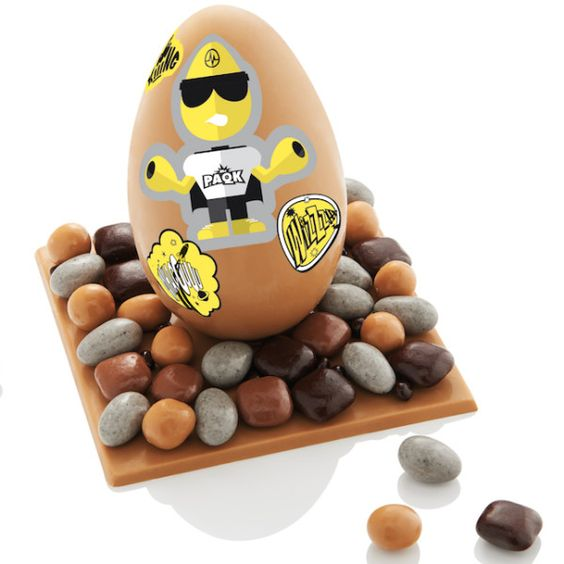 Pâques 2015, coups d'œufs cœurs chez les grands sucrés- #christophemichalak