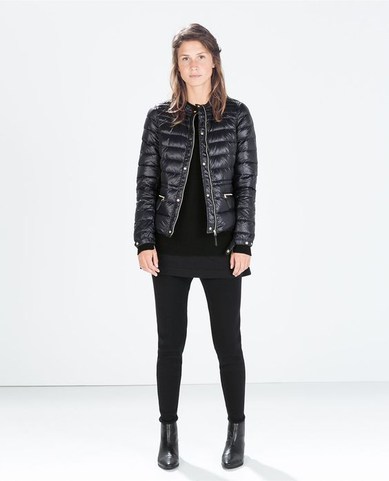 ZARA - WOMAN - ULTRALIGHT SHORT DOWN JACKET - LOOVE! | Fashion