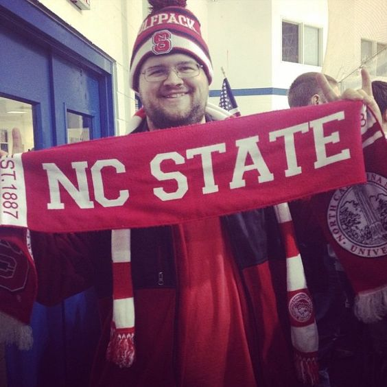 """""""It's gonna be cool this weekend so you may want to get your @traditionscarves Find them at @redandwhiteshopraleigh & @gamedaysportsoutlet Tons of teams…"""" www.shoplocalraleigh.org"""
