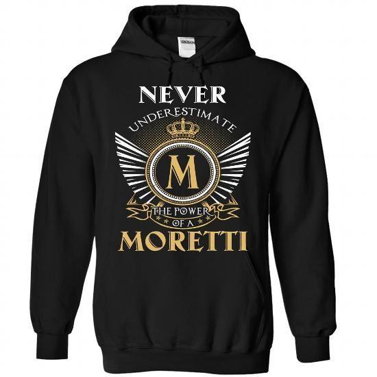 6 Never MORETTI - #cool shirt #music t shirts. SATISFACTION GUARANTEED  => https://www.sunfrog.com/Camping/1-Black-85370882-Hoodie.html?id=60505