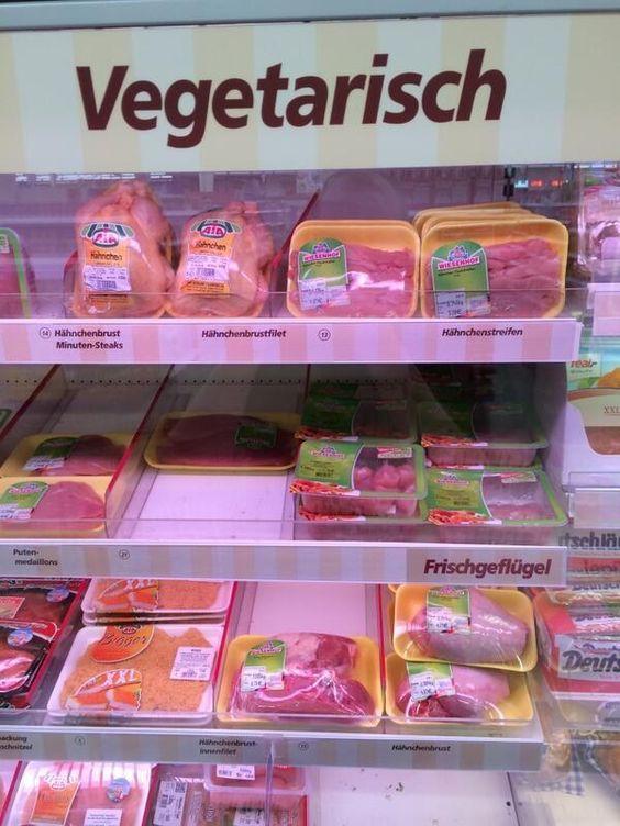 Und genau weiß, was er tut … | 15 Bilder, die nur Vegetarier in Deutschland kennen