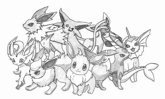 Eevee Evolutions Coloring Page Elegant Pokemon Coloring Pages Eevee Evolutions Google Search F Pokemon Coloring Pages Pokemon Eevee Evolutions Eevee Evolutions