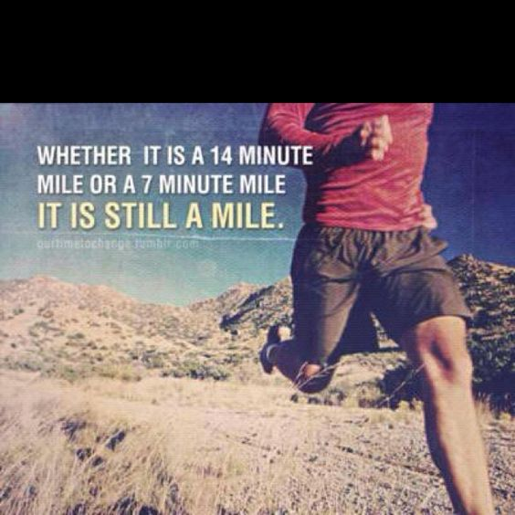 It's still a mile...