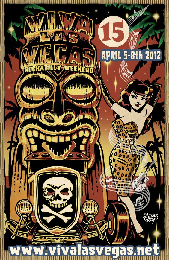 Viva Las Vegas Weekend 15 - @ The Orleans April 5-8, 2012. Was so much fun. I hope to back next year!