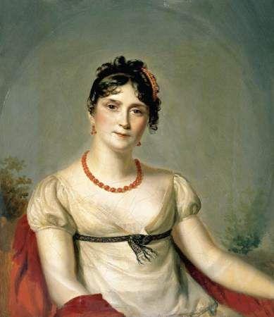 Josephine de Beauharnais, 1812 Firmin Massot (França, 1766-1849) óleo sobre tela, 32 x 28 cm Coleção Particular