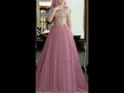 فستان سواريه اوخطوبه كلوش باسهل الطرق Youtube Dresses Victorian Dress Fashion