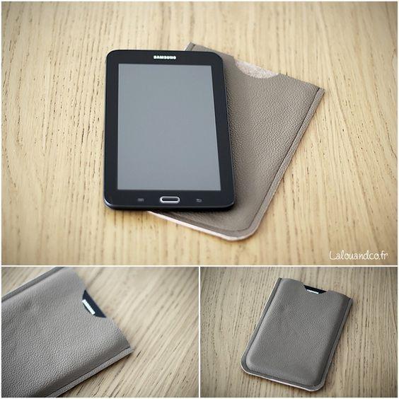 Samsung galaxies and couverture de la tablette on pinterest - Pochette pour tablette samsung ...