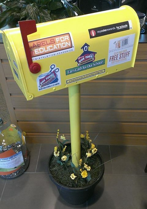 box tops for education mailbox - Google Search