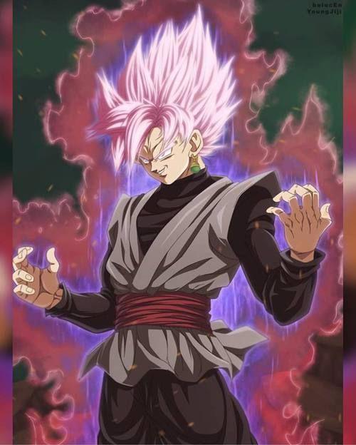 Imagen de black, super saiyajin god rose, and dbs