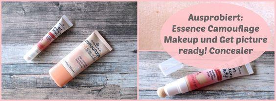Essence Teint Produkte ausprobiert: Camouflage Make-up und get picture ready Concealer!