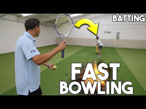 How To Destroy 95mph Fast Bowling Best Batting Drill Youtube In 2020 Fast Bowling Bowling Cricket Coaching