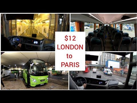 London To Paris From Victoria Coach Station To Paris Bercy 4k Youtube In 2020 Paris Eurostar Train London