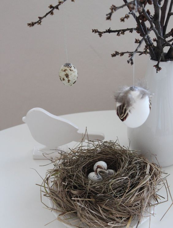 easter nature decor
