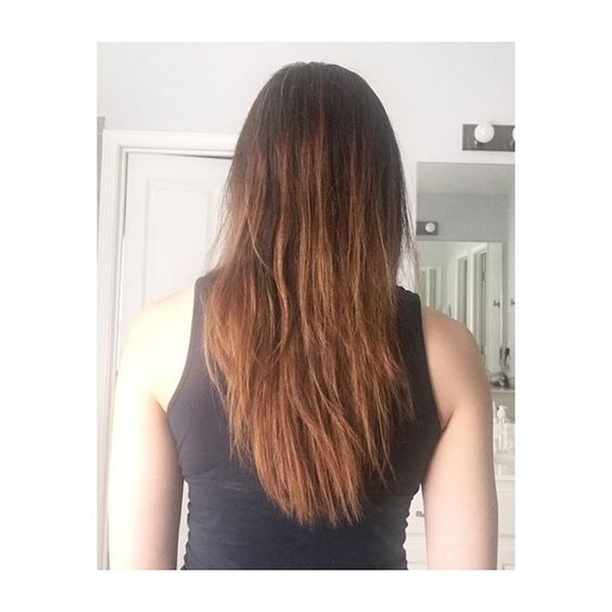 Top 100 diy ombre hair photos DIY ombré/balayage hair for $16. This was super fun and totally like my results!! 😍 I am thinking of processing it again in 2 weeks more at the bottoms and highlighting. I need to buy a purple shampoo because the toner didn't really take the brass out! #diyombrehair #diybalayage #betterthansalon #newhair #brunetteshavemorefun See more http://wumann.com/top-100-diy-ombre-hair-photos/