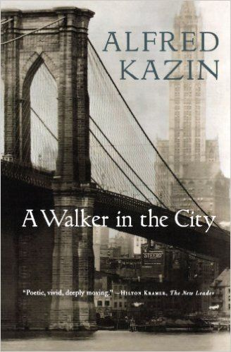 A Walker in the City: A walker in the city is a timeless meditation on the boyhood walks that take Kazin from his Jewish neighborhood of Brownsville, Brooklyn, out into the vast city of New York in the decade before the Depression. Stretching out to compelling, mysterious Manhattan and from there to the world, each walk is a journey out and a journey in. Kazin takes us outward from Brownsville to the great, electric, hallowed streets of the city.