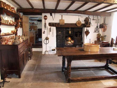 Wreay Farm A Small Seventeenth Century Farmhouse In Cumbria On The Edge Of Lake District National Park Owned By Food Historian Ivan Day