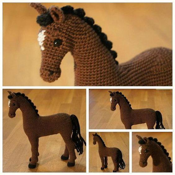 Häkeln Sie Pferd häkeln Sie Tier Amigurumi-Pferd  von Zizidora