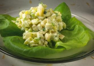 Egg White Salad Ingredients: 8 hard-boiled eggs (yolks removed ...