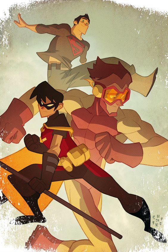Les illustrations de super-héros de l'artiste Sean Galloway