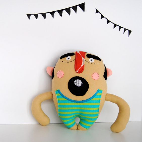 Mr Strong by PinkCheeksStudios on Etsy, $45.00