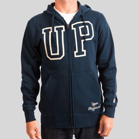 upper-playground - Outline UP Zip Hoodie #upperplayground @upperplayground #up #sf #warm #outline #hoodie