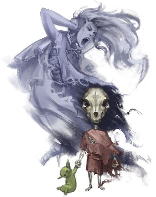 Attic Whisperer Fantasy Creatures Undead Creatures