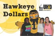 Hawkeye Dollar Card