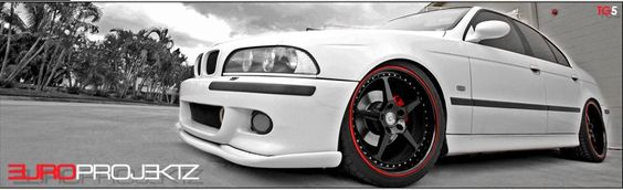 BMW E39 M5 Styling Alpine White
