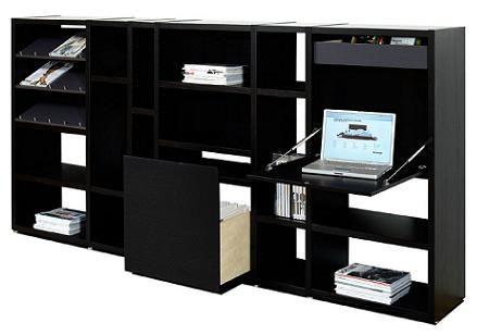 Librero con escritorio de BoConcept