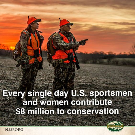 Happy National Hunting And Fishing Day: Happy National Wildlife Day! Staggering Contribution To