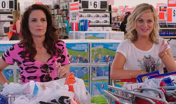 SISTERS. A raucous comedy starring Tina Frey & Amy Poehler as sisters. Confronted by their parents' decision to clear out their childhood bedrooms, the girls decide to throw a party reuniting the 80s gang and reliving their youth.