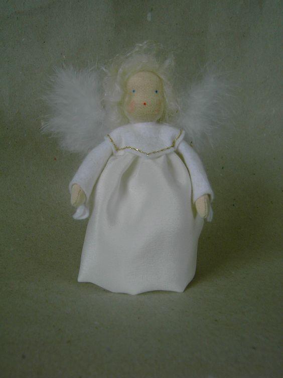 Engel Seidenkleid