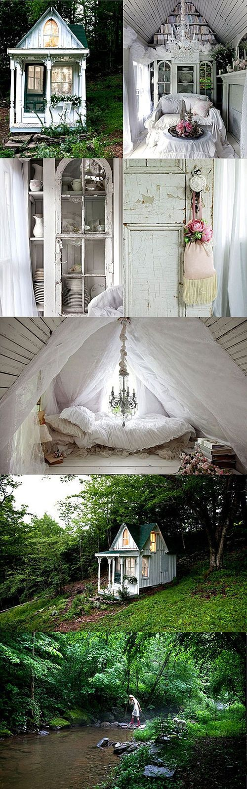 Astonishing A Real Tiny Dream House Tiny Houses Pinterest Beautiful Largest Home Design Picture Inspirations Pitcheantrous