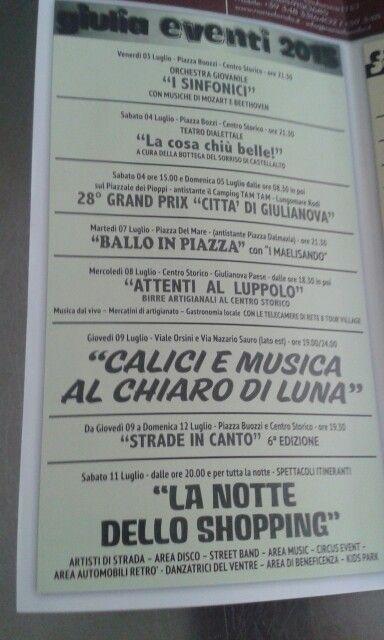 Un'altra festa di merda a Giulianova