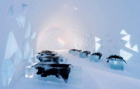 Ice Hotel (Jukkasjärvi, Suède)