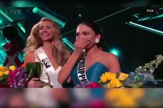 Catalogan Como Error Histórico El Error Durante Coronación De Miss Universo 2015 #Video