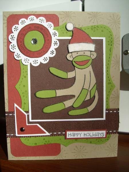 Sock Monkey Christmas 2010