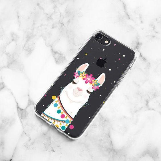 Cute Llama iPhone 11 Case iPhone 11 Pro Case Alpaca Samsung S10e Case Samsugn Note 10 Plus iPhone 11 Pro Max Samsung Note 9 Case iPhone 8