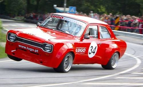 """Humble Fords slapping around the aristocrats"" KB Ford Escort MK 1"