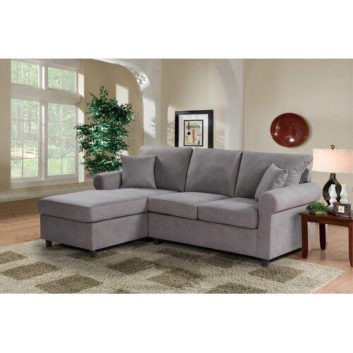 Eibhlin Left Hand Facing Sectional In 2020 Sofas For Small Spaces Sectional Sofa Small Space Sectional Sofa