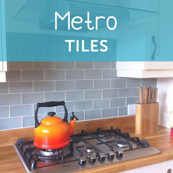 Browse our wide selection of metro tiles online. #metrotiles #subwaytiles
